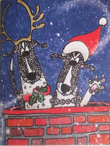 Van's Dogs Van's Dogs Christmas cards 1 card