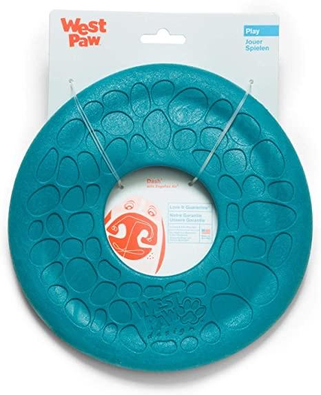 West Paw West Paw Zogoflex Air Dash Frisbee Dog Toy