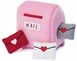 Zippy Paws Zippy Paws Mailbox & Love Letters Burrow Dog Toy