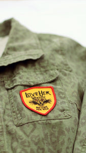 Leave Her Wild Iron-on Patch