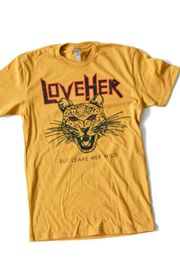 Leave Her Wild Tee