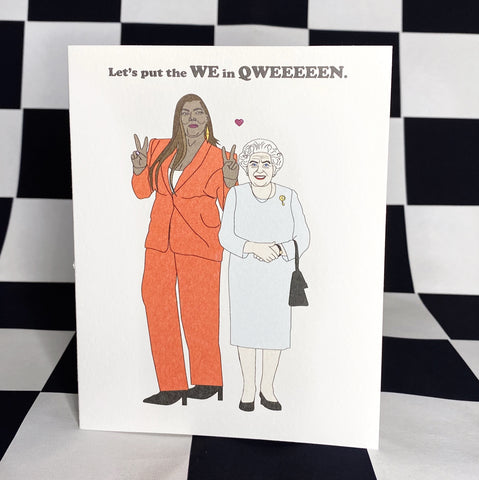 The Couple of Qweens Card