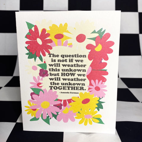 The Inspirational Card