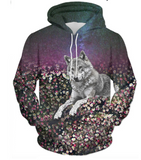 Floral Wolf | Casual | 41120