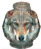 Wolf Face | Casual | 41104