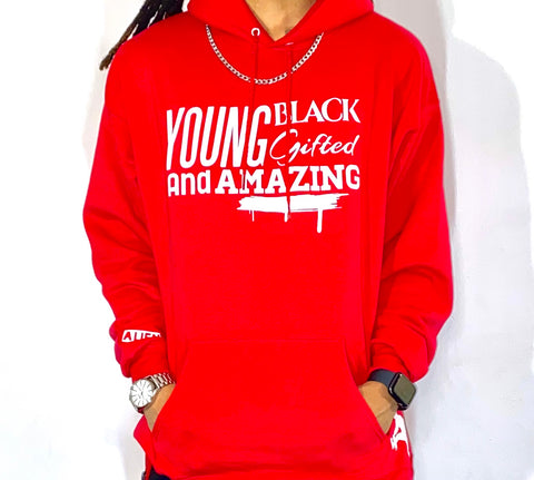 Young, Black, Gifted & Amazing Hoodie