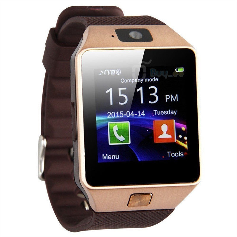 DZO Bluetooth Smartwatch - Kultur•Vultur -Gold / Without TF Card