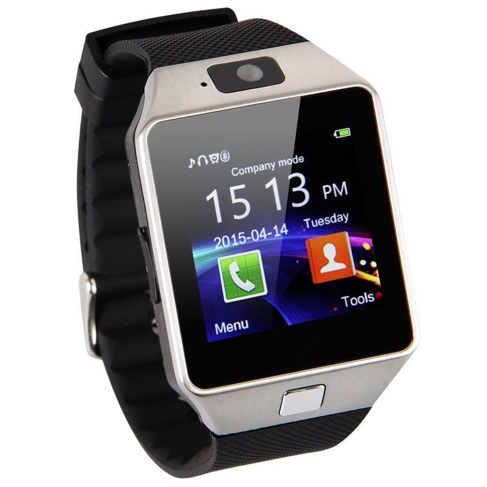 DZO Bluetooth Smartwatch - Kultur•Vultur -Silver / Without TF Card