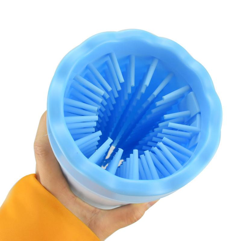 Silicone Paw Washer Cup - Kultur•Vultur -Blue / S
