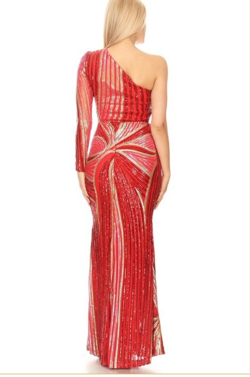 Venice Gown / Red