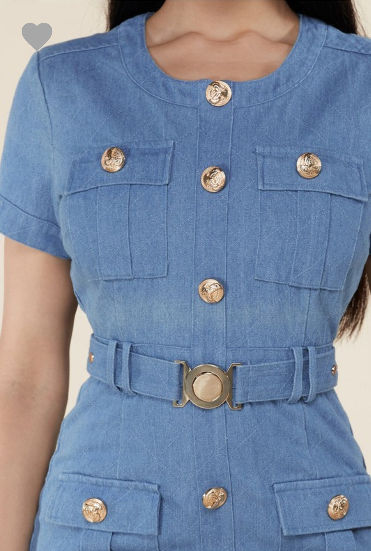 Brit Denim Dress
