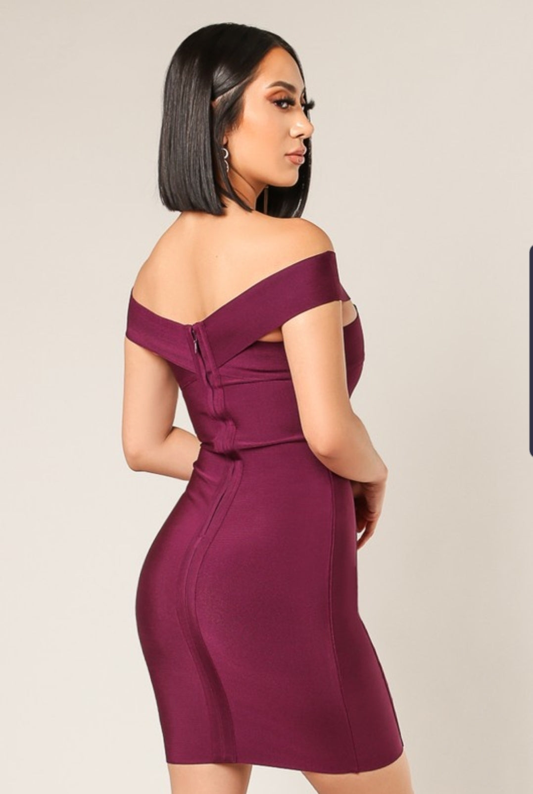 Live Passionately Bandage dress