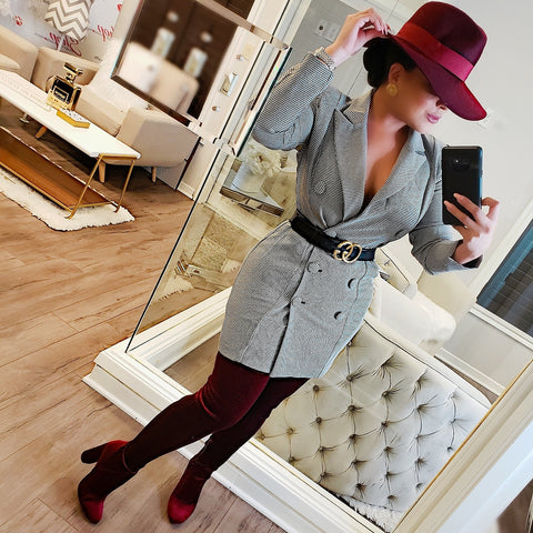 Adventurous Girl Blazer Dress