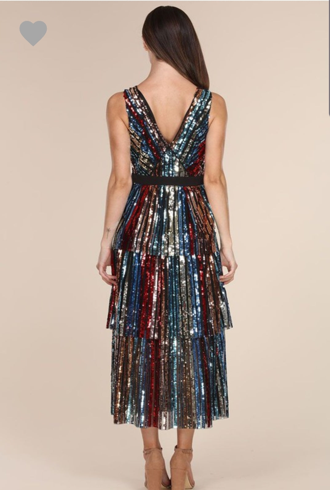 Florence Sequin Dress