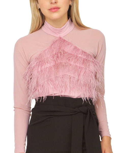 Altamura Feathered Top