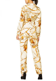 Beige - Madonna High Waist Jumpsuit