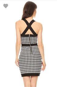 Strong Ambition Bodycon Mini Dress