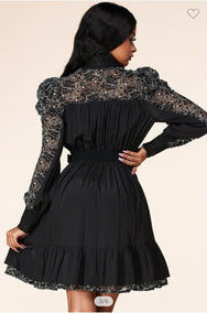 ZAZA LACE DRESS