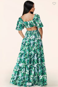 TROPICAL OBSESSION MAXI DRESS