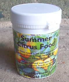 Citrus fertiliser (Summer)-Fertiliser-ladybirdplantcare.co.uk