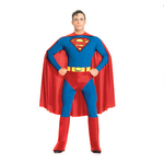 Gacloz  Adult Superman  Fancy Dress Costume Man Superhero  Costume