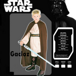 Gacloz    Star Wars Jedi Knight Suit Robe Costume