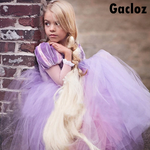 Gacloz   Kid Girl Rapunzel Puff Dress Princess Fancy DressCostume