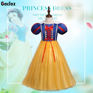 Gacloz   Kid Disney Snow White Girl Dress Party Costume