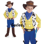 Gacloz   Kid Boys Disney Cowboy Costume Woody Fancy Dress Outfit