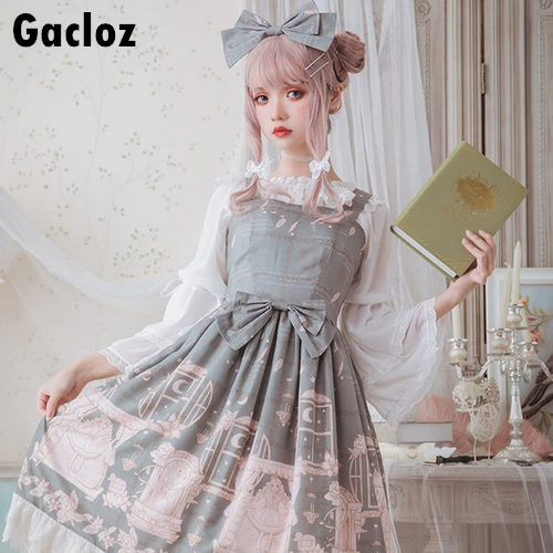 Gacloz      Lolita Lace Dress - DarkSeaGreen