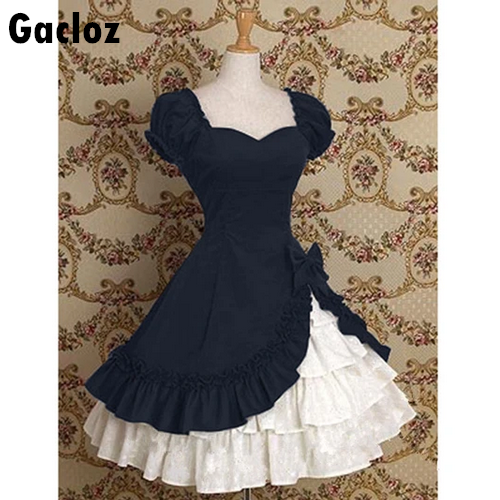 Gacloz   Lolita Dress -Ruffled Court Style Princess Dress