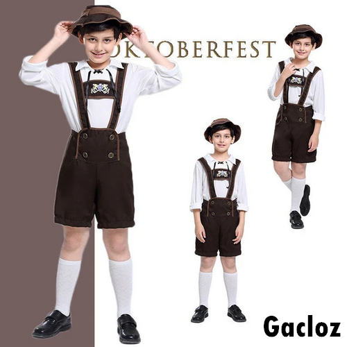 Gacloz    Oktoberfest Costume Boys Bavarian Beer Fancy Dress