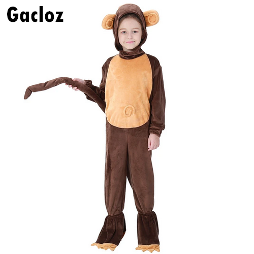 Gacloz  Kid Monkey Animal Costume Fancy Dress