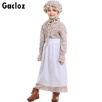 Gacloz    Kid Wolf Grandma Girl Performance Costume