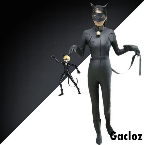 Gacloz   Kid  Miraculous Ladybug & Cat Noir Cosplay Costume Girls Fancy Costume