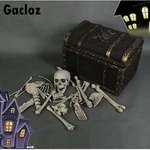 Gacloz  Part Skeleton Decoration Christmas Fancy Dress Party Prop Indoor Outdoor Bones