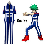 Gacloz    Adult  My hero academy Cosplay Costume Training Suit Outfit