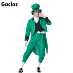 Gacloz   Adult  Irish Leprechaun Cosplay Evening Costume