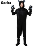 Gacloz   Black Cat Animal Plays Siamese Costume-Father