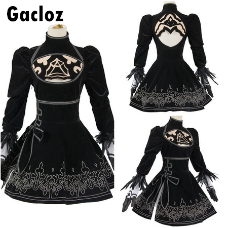 Gacloz  Adult Neil Mechanical Age 2B Miss Cosplay Full Costume