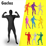 Gacloz   Spandex Costume Halloween  Full Body Suit Invisible Morphsuit