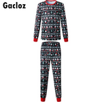 Gacloz  Christmas Family Matching Pyjamas Set Dad Mom Kids Christmas Nightwear