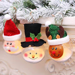 Christmas Fairy Light Collection XMAS Decorations Santa Snowman Elk Tree Topper