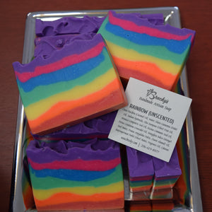 Rainbow Soap Bars (Unscented)