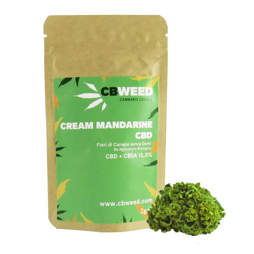 Cream Mandarine - 2g - Erboteca.it