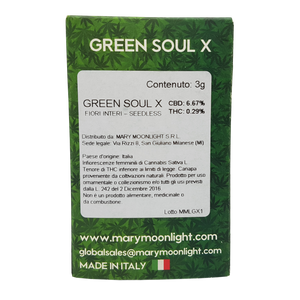 Green Soul X - 3g - Erboteca.it