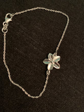 Load image into Gallery viewer, Sterling Silver Plumeria Bracelet