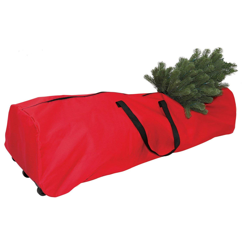 Christmas Tree Rolling Storage Bag.New Traditions 7 5ft Artificial Rolling Tree Storage Bag
