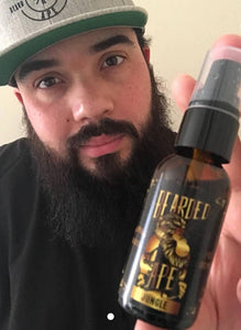 Jungle Scent Premium Organic Beard Oil - 100% Natural-Soften, Relax, and Condition