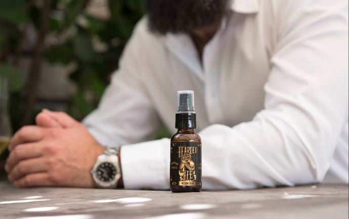 Mountain Scent Premium Organic Beard Oil - 100% Natural-Soften, Relax, and Condition